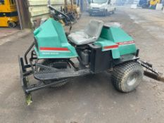 RANSOMES CUSHMAN BUNKER RAKE, IDEAL FOR LEVELLING MENAGE, 8FT WIDE COVERAGE *PLUS VAT*