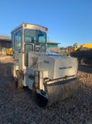 INGERSOLL RAND DD25 ROLLER, TWIN DRUM ROLLER, 1250MM DRUMS, FULLY GLASS CAB *PLUS VAT