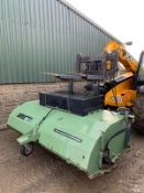 DMX SWEEPER SOLUTION SWEEPER BUCKET, ALL WORKS, HYDRAULIC DRIVEN *PLUS VAT*