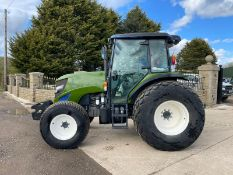 2014 ISEKI TJA8080 TRACTOR, FULLY GLASS CAB, GRASS TYRES,86HP, FRONT WEIGHTS *PLUS VAT