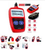 DIERYA FAULT CODE READER SCANNER ENGINE CAR DIAGNOSTIC RESET TOOL OBD 2 CAN EOBD MS309 *PLUS