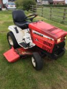 SHIBAURA GT16 RIDE ON LAWN MOWER, RUNS, DRIVES AND CUTS, HYDROSTATIC DRIVE, DIESEL ENGINE *NO VAT*