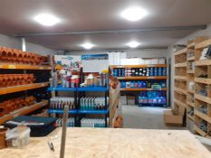 INSOLVENCY SALE - UNDERGROUND DRAINAGE BUSINESS, ALL STOCK AND ITEMS ARE NEW *PLUS VAT*