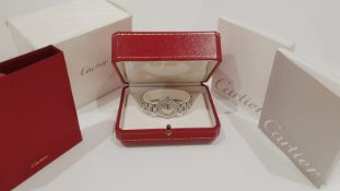Cartier Ladies Watch Stainless Steel, Box & Papers, NO VAT