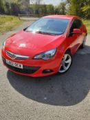 2013 VAUXHALL ASTRA GTC SRI CDTI S/S, 3 DOOR HATCHBACK, SHOWING 3 PREVIOUS KEEPERS, DIESEL ENGINE