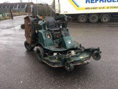 2003/03 REG HAYTER R314 4WD HYDROSTATIC RIDE ON DIESEL GREEN BAT WING WIDE AREA LAWN MOWER *NO VAT*