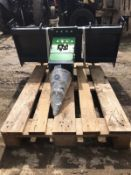 BRAND NEW AND UNUSED HANER WOOD SPLITTER, SUITABLE FOR SKIDSTEER *PLUS VAT*