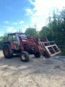 ZETOR CRYSTAL 8011 LOADER TRACTOR, RUNS, WORKS AND LIFTS *PLUS VAT*