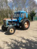 FORDSON SUPER MAJOR TRACTOR, RUNS AND DRIVES, CABBED, 3 POINT LINKAGE *PLUS VAT*