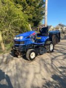 ISEKI SXG 19 RIDE ON LAWN MOWER, RUNS DRIVES AND CUTS, SHOWING 1075 HOURS *NO VAT*