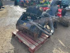 2017 CAT HM208 STUMP MULCHER, HYDRAULIC DRIVEN, 80MM PINS *PLUS VAT*