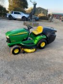 JOHN DEERE LTR 180, RUNS DRIVES AND CUTS, V-TWIN ENGINE *NO VAT*