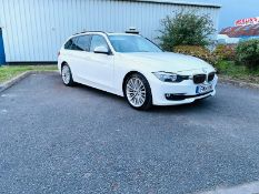 2014 BMW 320D LUXURY TOURING AUTO, 2.0 DIESEL ENGINE, SHOWING 3 PREVIOUS KEEPERS *NO VAT*