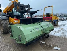 2017 DATUM DIRT MASTER SWEEPER BUCKET, HYDRAULIC DRIVEN, SUITABLE FOR PALLET FORKS *PLUS VAT*