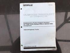 CATERPILLAR 785B VIMS SERVICE MANUAL, GENUINE FACTORY CAT WORKSHOP MANUAL