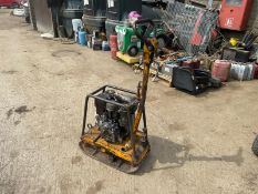WACKER NEUSON DPU2440 DIESEL WACKER PLATE, GOOD COMPRESSION, FARYMANN DIESEL ENGINE *NO VAT*