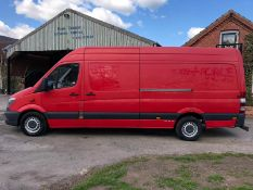 2013 MERCEDES-BENZ SPRINTER 310 CDI BLUE EFFICIENCY, DIESEL ENGINE, SHOWING 0 PREVIOUS KEEPERS