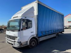 "MERCEDES ATEGO 818 DAY, 24FT CURTAINSIDE, 9FT 5"" HIGH INTERNAL, 4250CC, DIESEL ENGINE *PLUS VAT*"