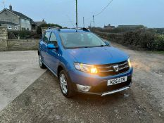 2013/63 REG DACIA SANDERO STEPWAY LAUREATE TCE 900CC PETROL 5DR HATCHBACK, SHOWING 4 FORMER KEEPERS