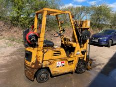 KOMATSU FG20-S-3 2 TON CONTAINER SPEC FORKLIFT, STARTS AND DRIVES WELL *PLUS VAT*