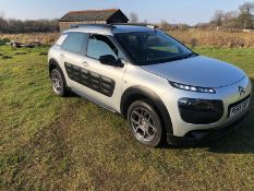 2015/65 REG CITROEN C4 CACTUS FEEL PURETECH 1.2 PETROL 5 DOOR HATCHBACK, SHOWING 1 FORMER KEEPER