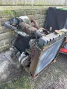 PERKINS 3 DIESEL CYLINDER ENGINE, UNTESTED *PLUS VAT*