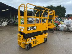 2019 JCB S1530E ELECTRIC SCISSOR LIFT, as new - EX DEMO CONDITION 3 hrs only *PLUS VAT*