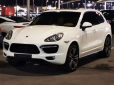 2011 PORSCHE CAYENNE TURBO ALL ORIGINAL 65,000 KM CAN SHIP VAT FREE FOR EXPORT