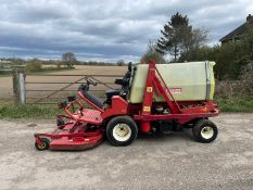 GIANNI FERRARI GF TURBO 35HP RIDE ON MOWER, RUNS DRIVES AND CUTS, A LOW 1230 HOURS *PLUS VAT*
