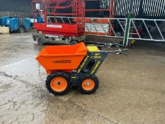 BRAND NEW AND UNUSED MINI WALK BEHIND 4WD DUMPER, BRIGGS AND STRATTON ENGINE *PLUS VAT*