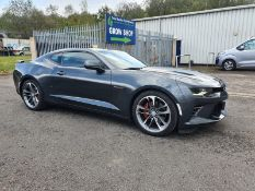 2017/17 REG CHEVROLET CAMARO V8 AUTOMATIC GREY COUPE 50ith ANNIVERSARY EDITION, LHD, LOW MILEAGE