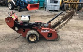 DITCH WITCH RT10 WALK BEHIND TRENCHER, RUNS DRIVES AND DIGS, SHOWING A LOW 130 HOURS *PLUS VAT*