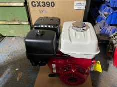 BRAND NEW AND UNUSED HONDA GX390 ENGINE, GENUINE HONDA, MANUAL IS INCLUDED *NO VAT*