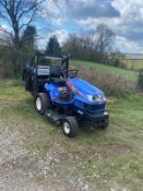 ISEKI SXG 19 HIGH TIP RIDE ON COMMERCIAL LAWN MOWER, RUNS DRIVES AND CUTS, LOW 1537 HOURS *NO VAT*