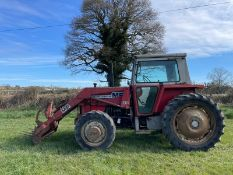 1999 MASSEY FERGUSON MG590 TRACTOR WITH LOADER, RUNS DRIVES AND LIFTS, CABBED *PLUS VAT*