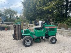 RANSOMES HIGHWAY 213 RIDE ON LAWN MOWER, RUNS AND WORKS WELL, 4 WHEEL DRIVE *NO VAT*