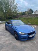 2013 BMW 320D M SPORT AUTO BLUE 4 DOOR SALOON, 2.0 DIESEL ENGINE *NO VAT*