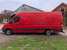 2009 MERCEDES SPRINTER 311 CDI LWB RED PANEL VAN, 64,414 MILES, DIESEL ENGINE *PLUS VAT*