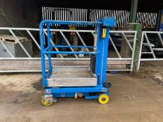 2010 POWERTOWER NANO ELECTRIC SCISSOR LIFT, ALL WORKS *PLUS VAT*