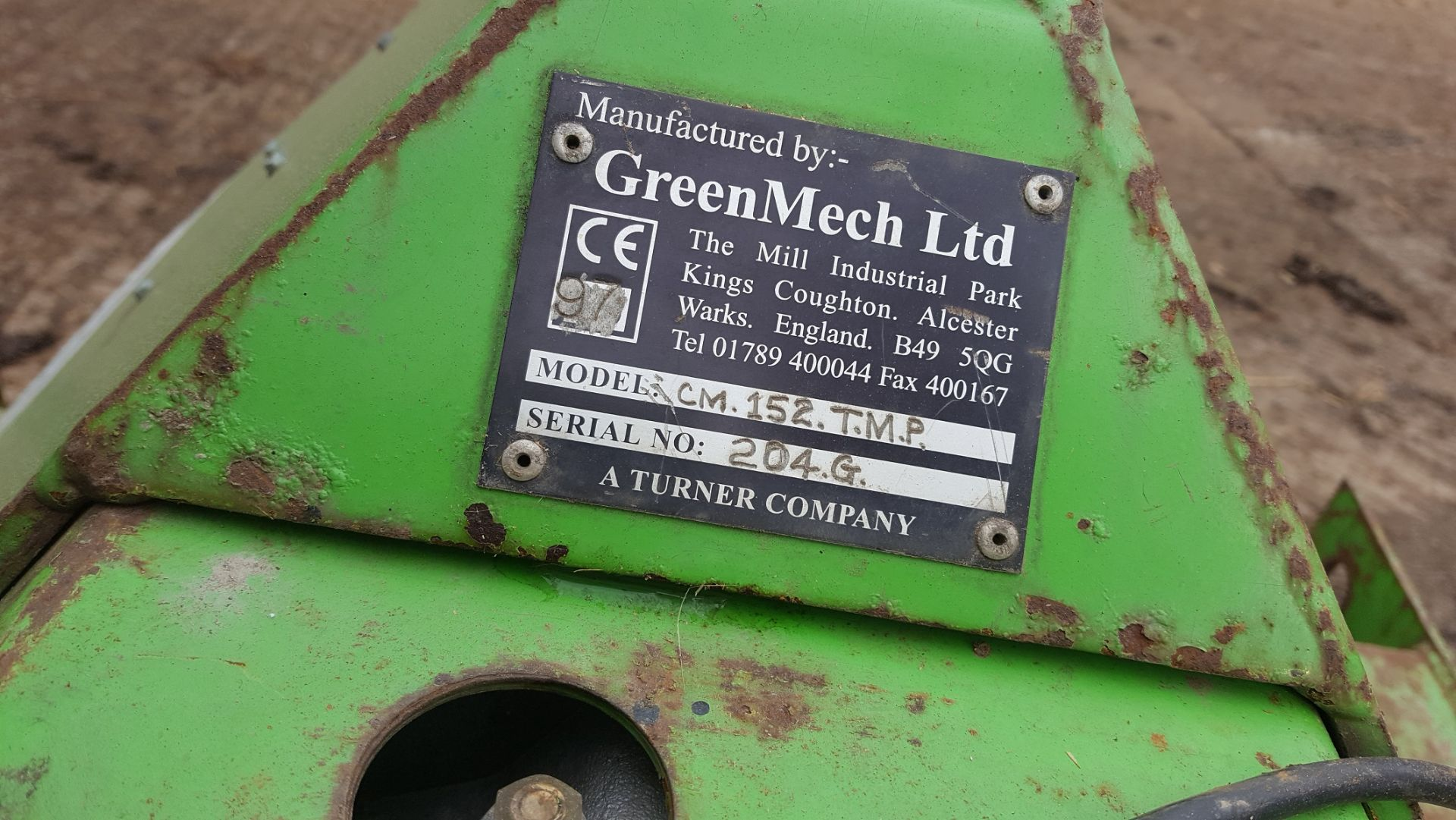 GREENMECH CHIPMASTER 150 SERIES, MODEL: CM152 TMP *PLUS VAT* - Image 4 of 5