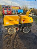 WACKER NEUSON TWIN VIBRATING ROLLER FULL WORKING ORDER 204 HOURS, YEAR 2014 *PLUS VAT*