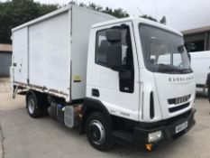 2010/60 REG IVECO EUROCARGO 75E16S TIPPER REFUSE TRUCK SIDE BIN LIFT EX COUNCIL *PLUS VAT*