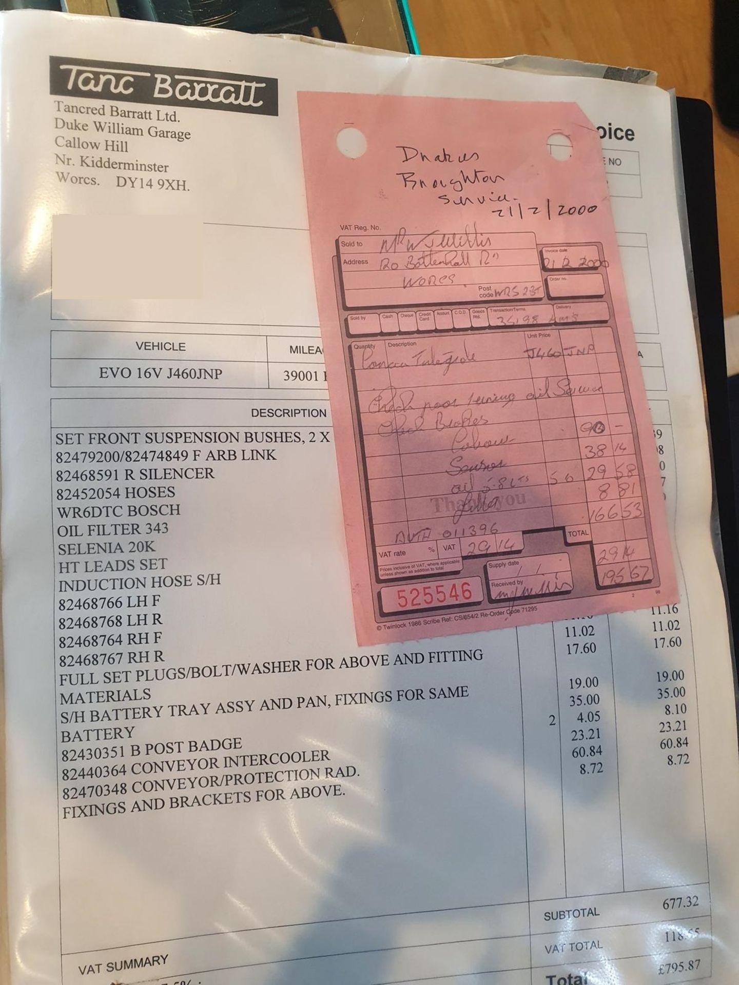 1992 LANCIA DELTA EVO 1 HF INTEGRALE, 51,000 MILES, FULL HISTORY, PETROL ENGINE *PLUS VAT* - Image 20 of 28