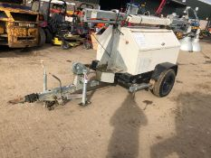 2005 TEREX RL4050D PORTABLE LIGHTING TOWER, SINGLE AXLE TOWABLE *PLUS VAT*
