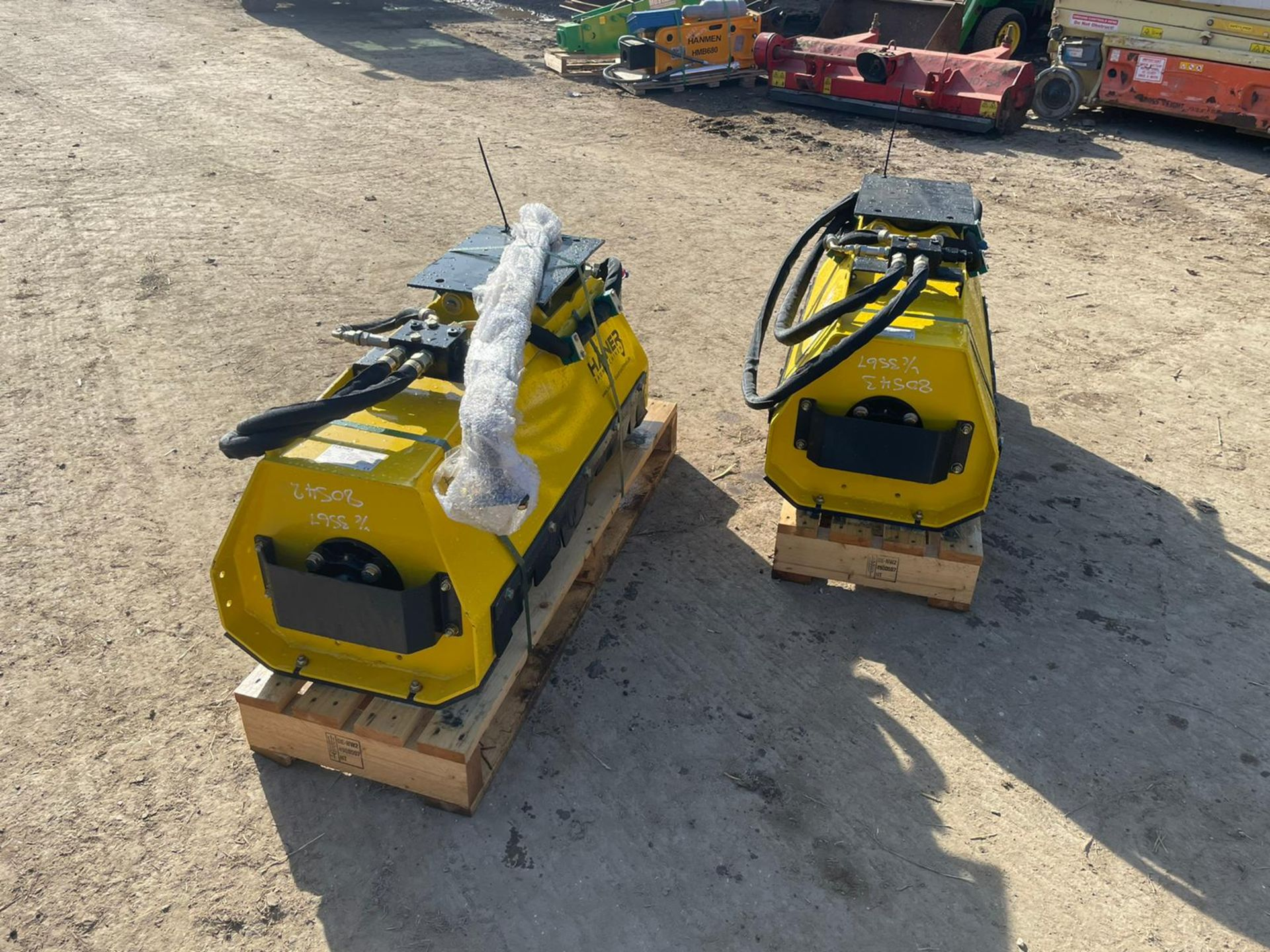BRAND NEW AND UNUSED HANER HML800 MUNCHER, SUITABLE FOR 2-5 TON EXCAVATOR *PLUS VAT* - Image 5 of 5