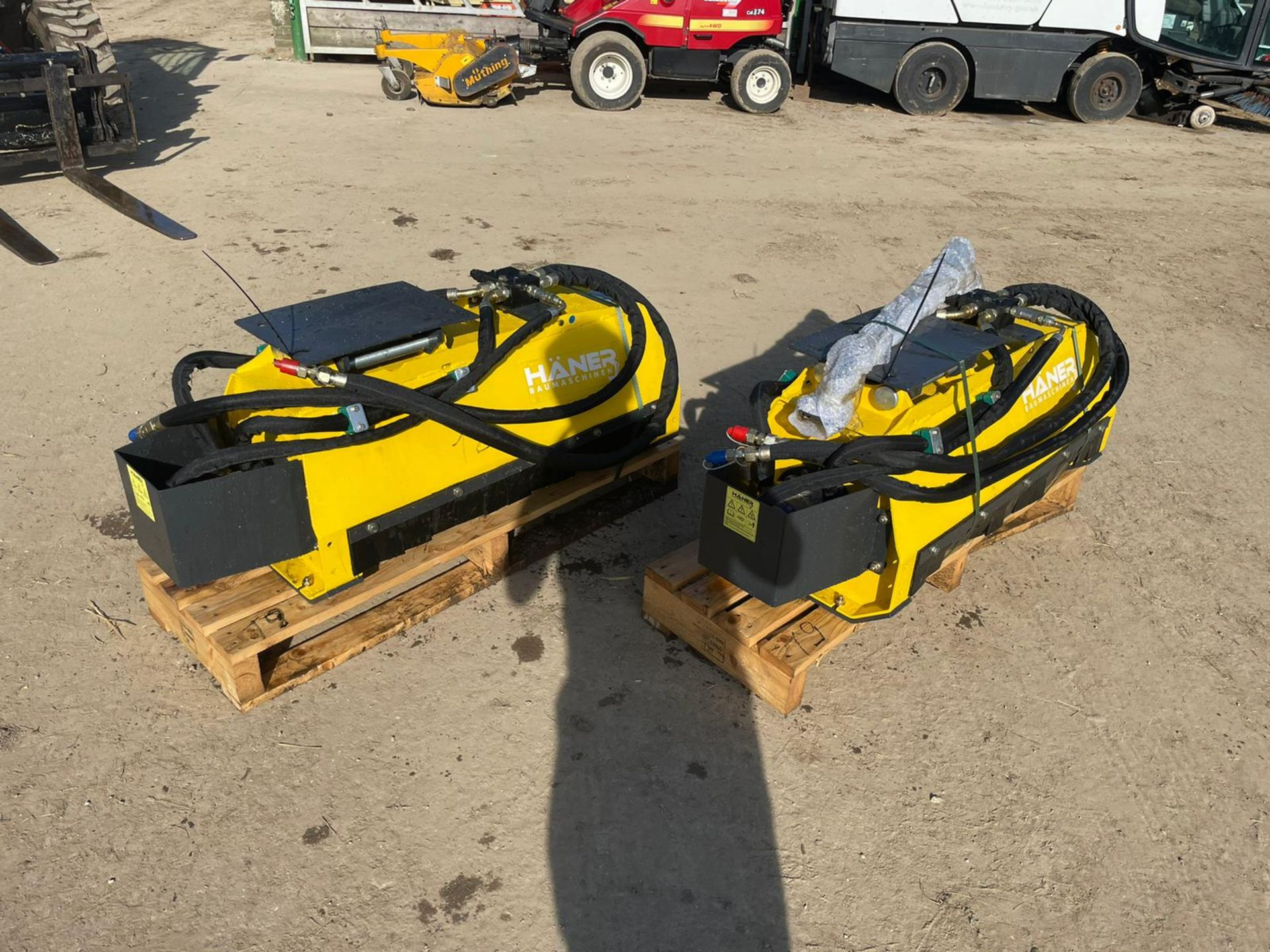 BRAND NEW AND UNUSED HANER HML800 MUNCHER, SUITABLE FOR 2-5 TON EXCAVATOR *PLUS VAT*