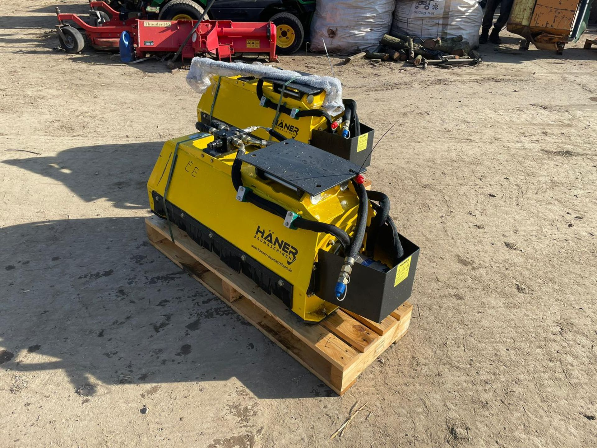 BRAND NEW AND UNUSED HANER HML800 MUNCHER, SUITABLE FOR 2-5 TON EXCAVATOR *PLUS VAT* - Image 3 of 5