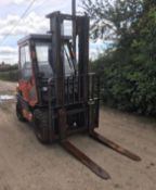 TOYOTA 30 FORKLIFT, RUNS, DRIVES AND LIFTS, CONTAINER SPEC, FULLY GLASS CAB *PLUS VAT*