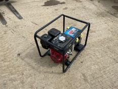 STEPHILL SE5000EC GENERATOR, 5KVA, RUNS AND WORKS, HONDA GX270 ENGINE *NO VAT*