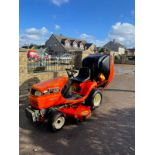 KUBOTA TG1860 RIDE ON LAWN MOWER, 3 CYLINDER KUBOTA DIESEL ENGINE, VERY LOW HOURS 1030 *NO VAT*